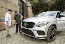 Mercedes-Benz GLE Coupe Jurassic Park
