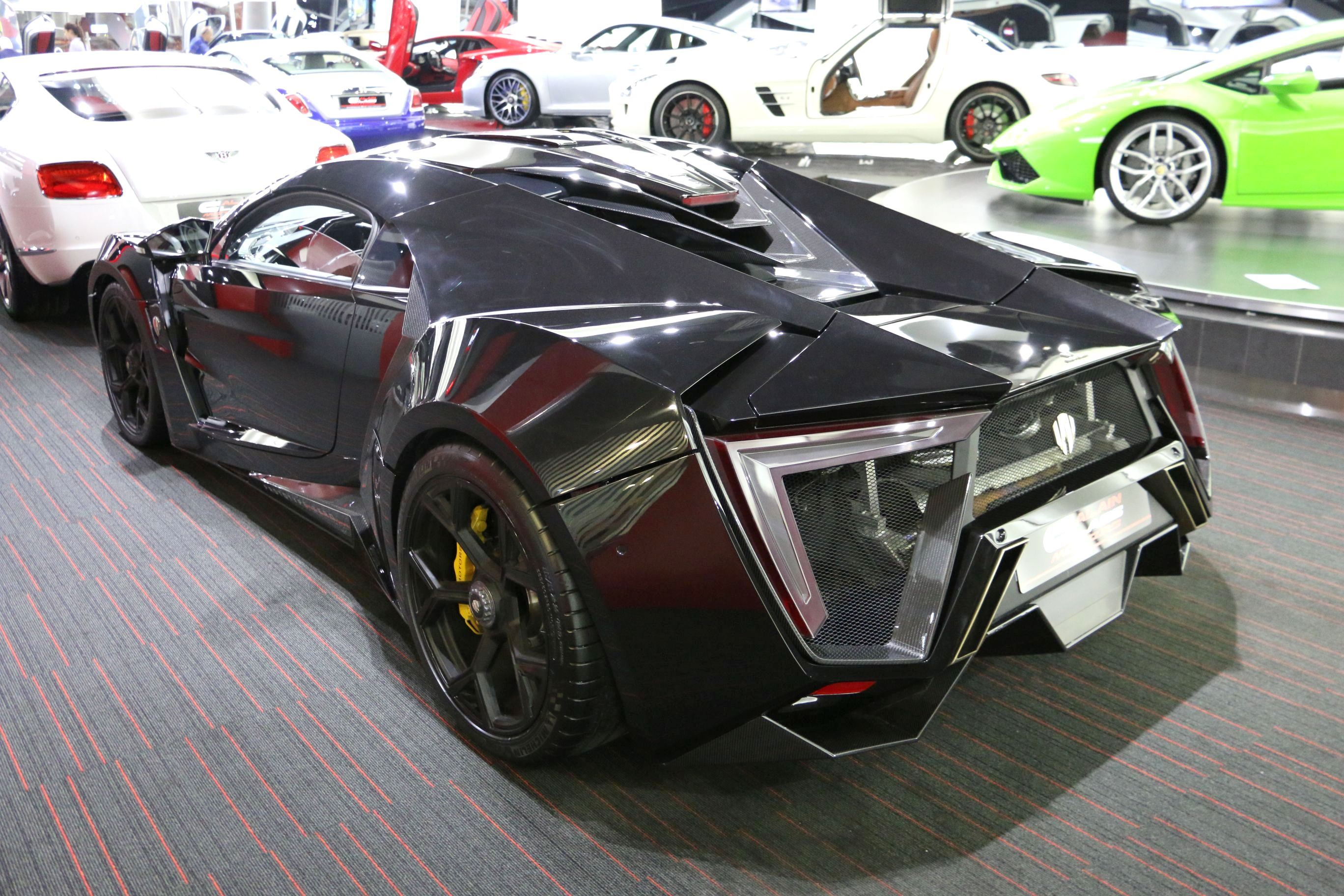 black lykan hypersport for sale gtspirit. Black Bedroom Furniture Sets. Home Design Ideas
