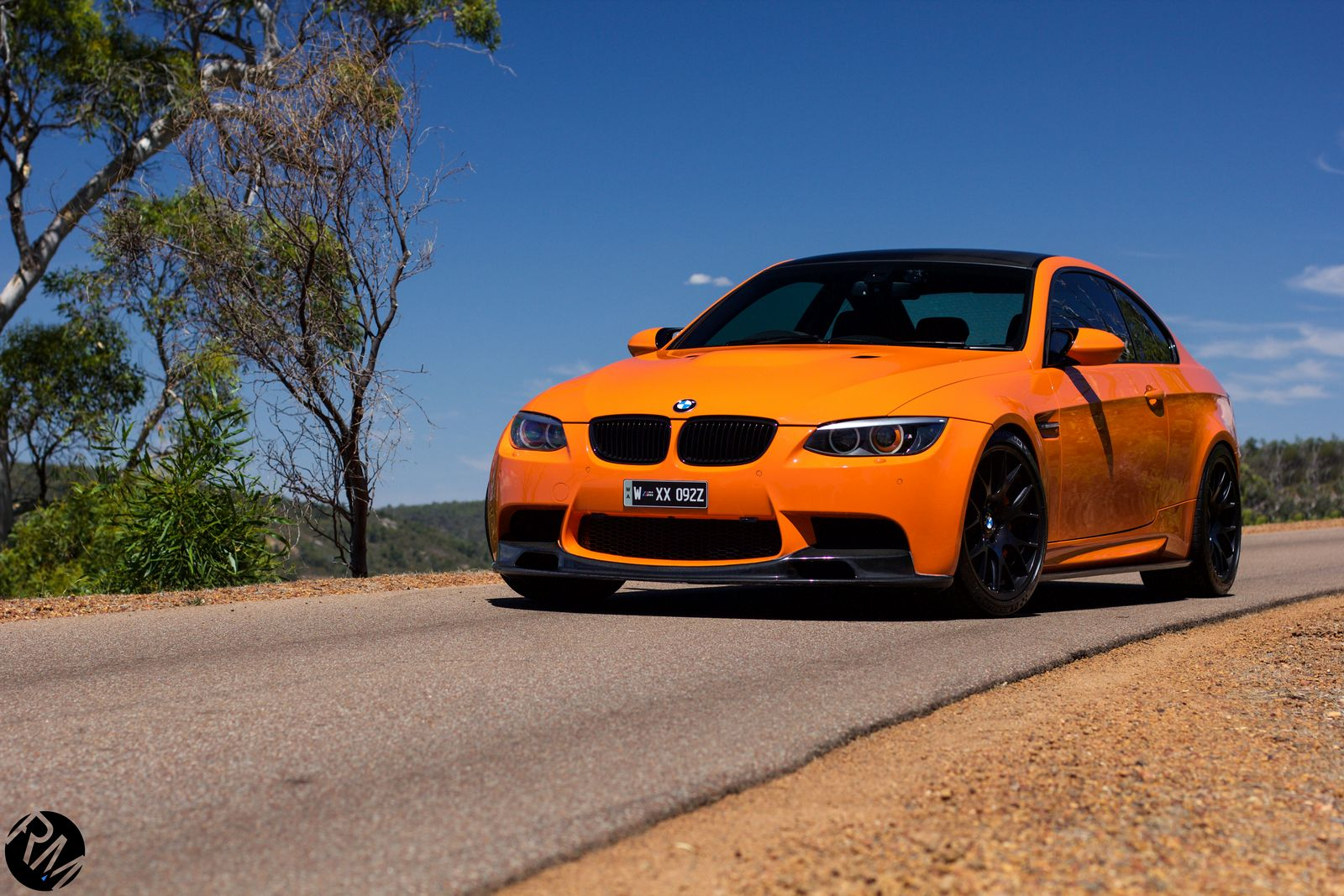 Gallery Tuned Orange Bmw E92 M3 Gtspirit