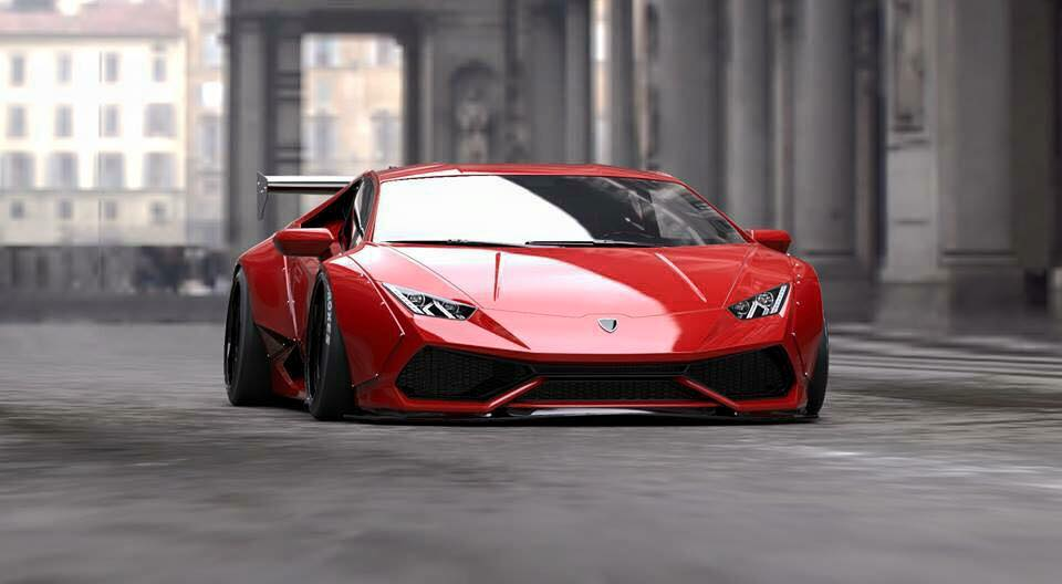 Liberty Walk Previews New Lamborghini Huracan Project