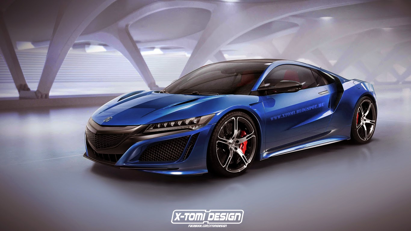 upcoming honda nsx type r rendered gtspirit. Black Bedroom Furniture Sets. Home Design Ideas