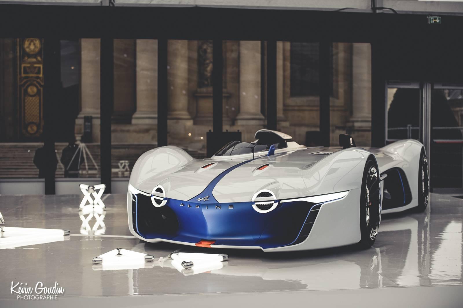 Alpine Vision GT Showcased at Festival Automobile Internation