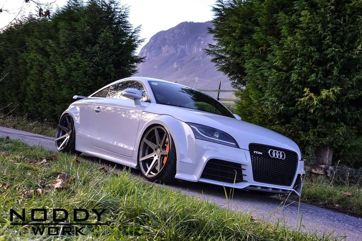 Audi Tt Widebody By Laini Design Gtspirit