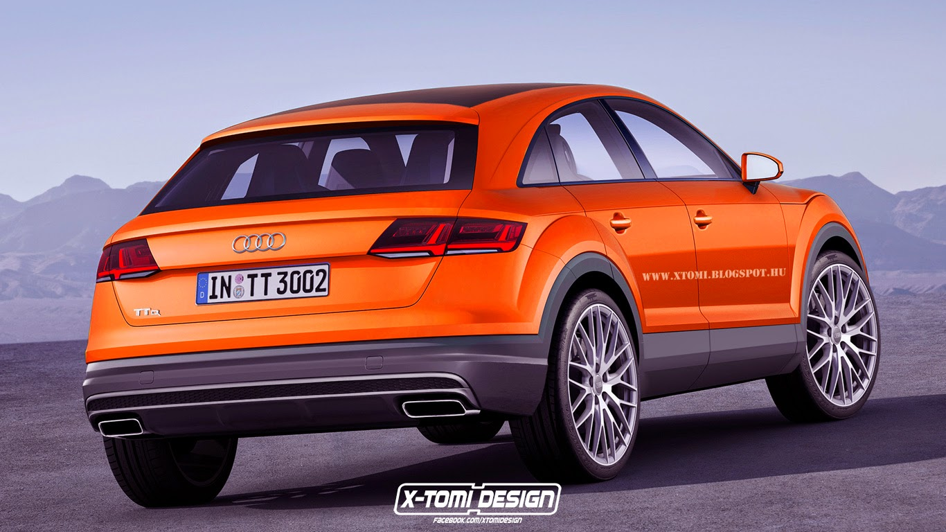 Potential Audi TTQ Rendered - GTspirit
