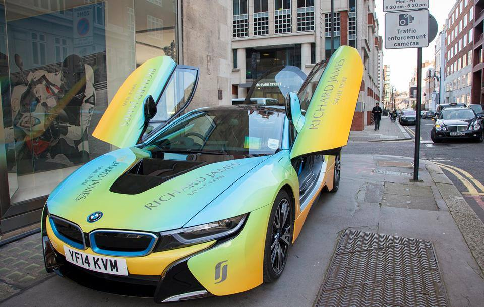 London Designer Gives The Bmw I8 A Makeover Gtspirit