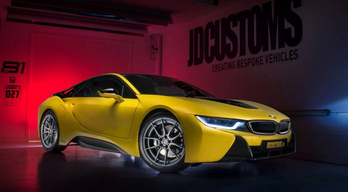 Bitter Yellow BMW i8 by JD Customs