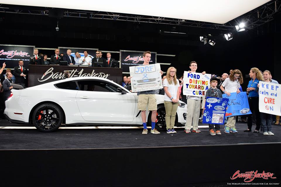 2016 Ford Shelby GT350R VIN 001 Auctions for $1 Million!