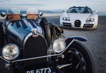 Bugatti Veyron Vitesse Tours with Legendary Bugatti Type 51