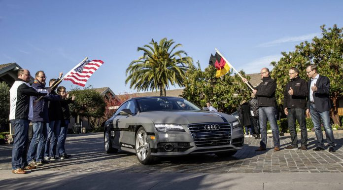 Audi A7 Sportback Piloted Driving Concept car