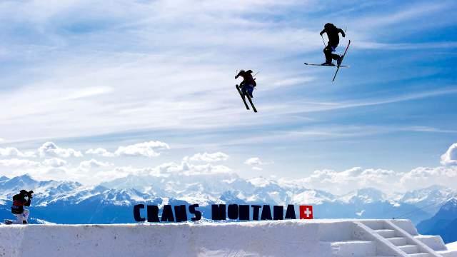 Crans Montana Winter