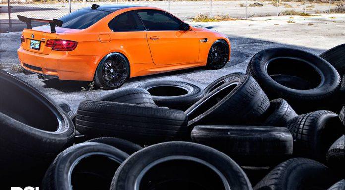 Fire Orange BMW M3 by Precision Sport Industries