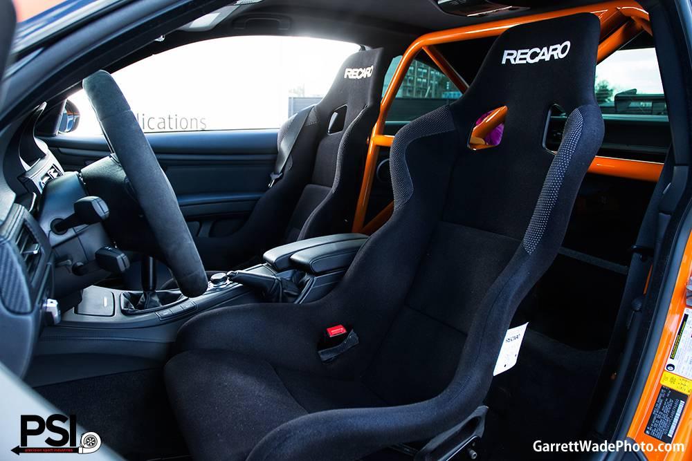 Fire Orange Bmw M3 By Precision Sport Industries Gtspirit