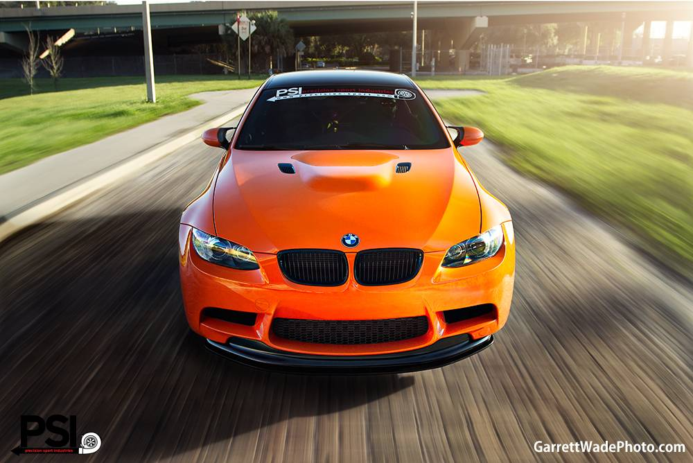 Fire Orange BMW M3 by Precision Sport Industries  GTspirit