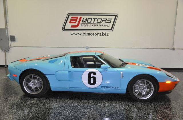 For Sale: 2006 Ford GT Heritage Edition with 11 Miles Only