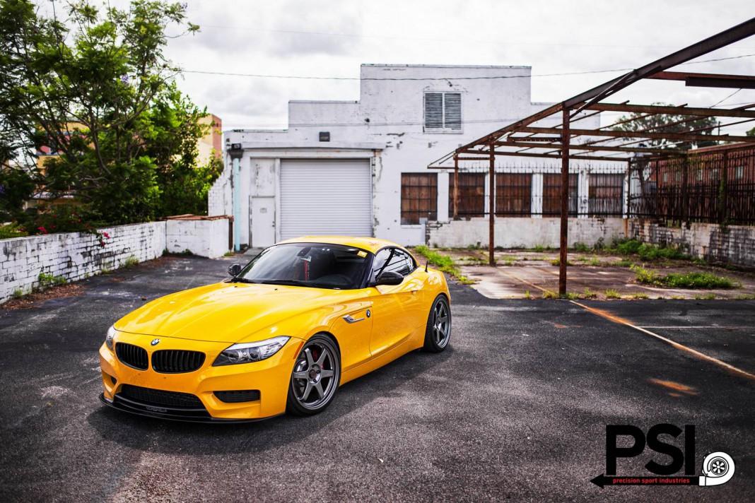 Full Yellow Jacket BMW Z4 by Precision Sport Industries