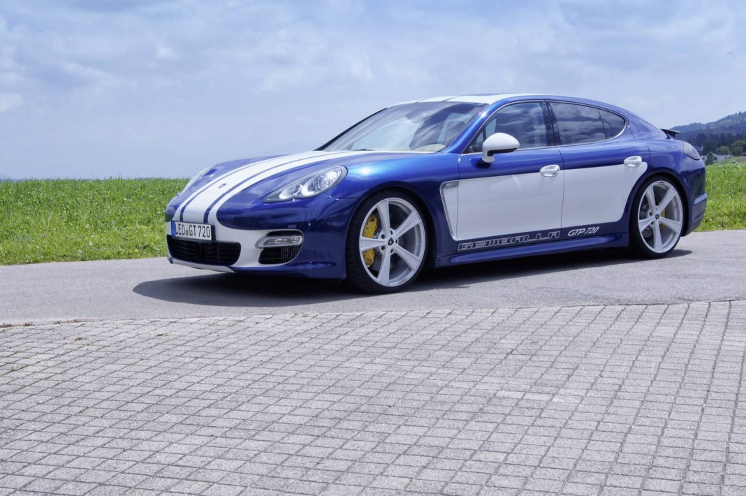 Gemballa Sets New Records with the Panamera GTP 720
