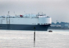 Hoegh Osaka towed