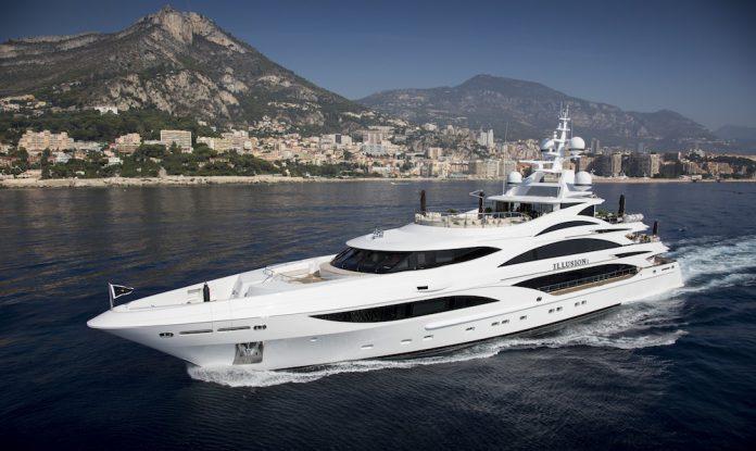 Illusion V Superyacht by Benetti Shipyard