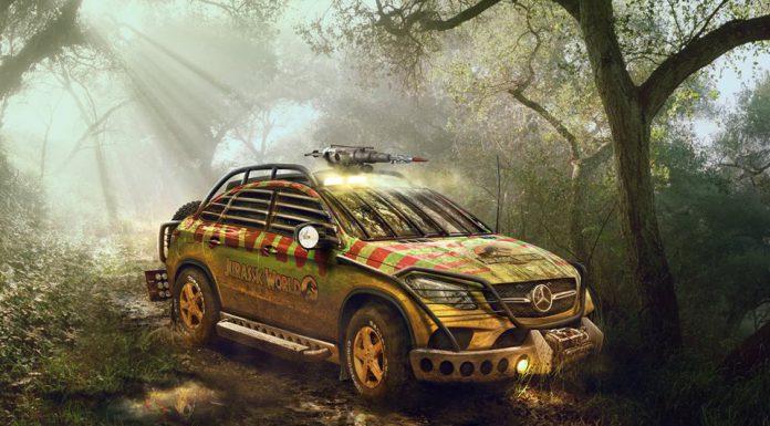 Jurassic Park Mercedes-Benz GLE