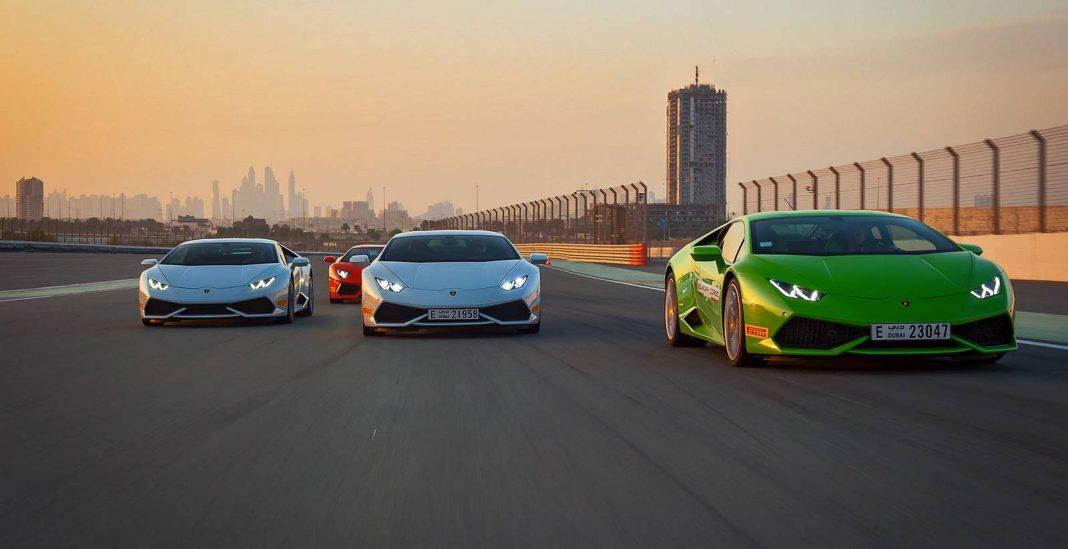 Lamborghini Accademia Takes Action to the Dubai Autodrome