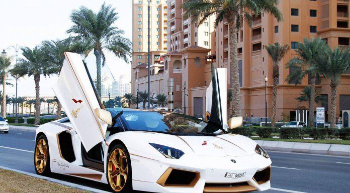 Lamborghini Aventador Qatar Edition by Maatouk Design