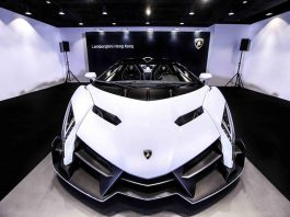 Lamborghini Hong Kong Reveals New Veneno Roadster