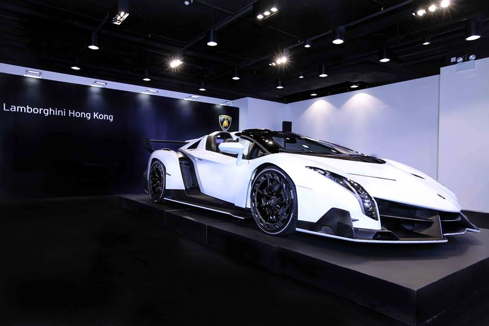lamborghini hong kong reveals new veneno roadster