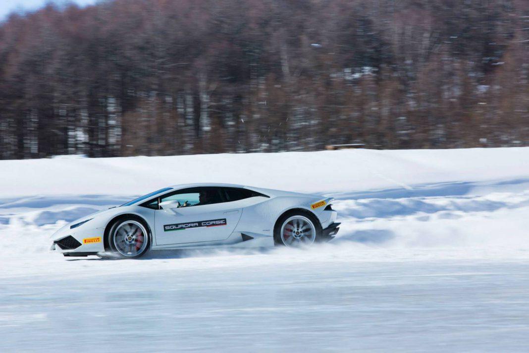 Lamborghini Winter Academy Japan