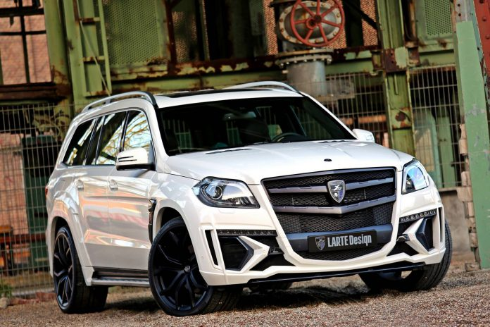 Larte Design Black Crystal Mercedes-Benz GL Photoshoot