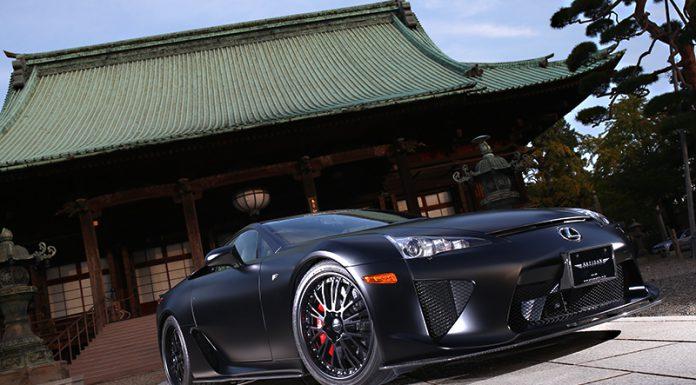 Matte Black Lexus LFA by Artisan Spirits
