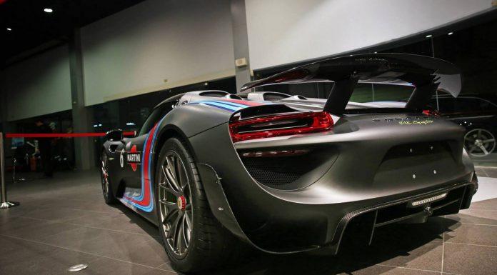 Stunning Black Martini Porsche 918 Spyder in Taiwan!