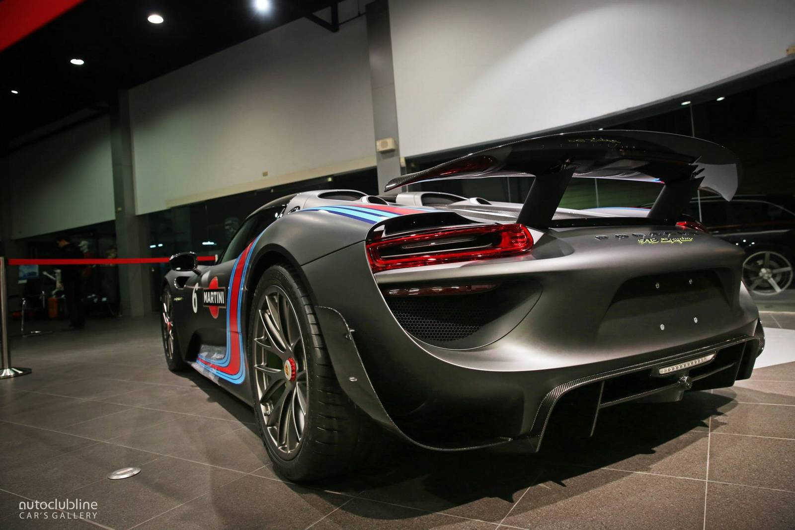 stunning black martini porsche 918 spyder in taiwan gtspirit. Black Bedroom Furniture Sets. Home Design Ideas