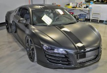 Evil 800hp Matte Black Audi R8 by VF Engineering