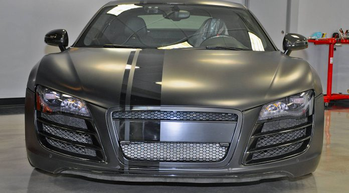 Evil 800hp Matte Black Audi R8 by VF Engineering