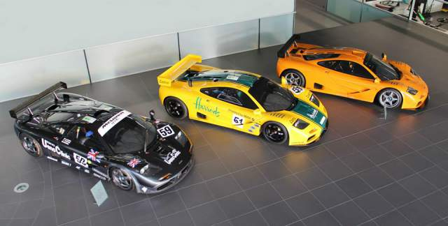 McLaren F1 GTR 06R Joins Le Mans Legends at MTC