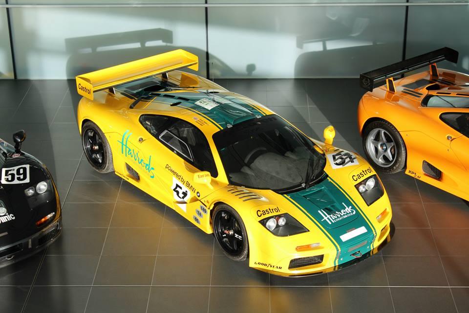 McLaren F1 GTR 06R Joins Le Mans Legends at MTC