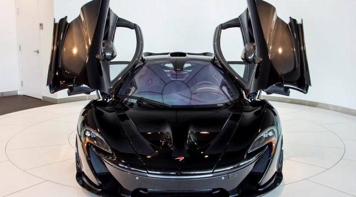 McLaren Newport Beach Delivers Fire Black McLaren P1