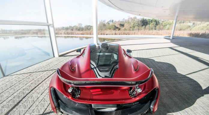 Stunning MSO Satin Volcano Red McLaren P1 Photoshoot!