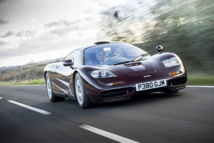 Mr.Bean Lists His McLaren F1 for Sale