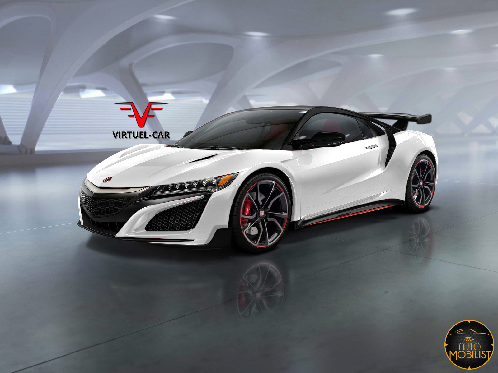 new honda nsx type r rendered again gtspirit. Black Bedroom Furniture Sets. Home Design Ideas
