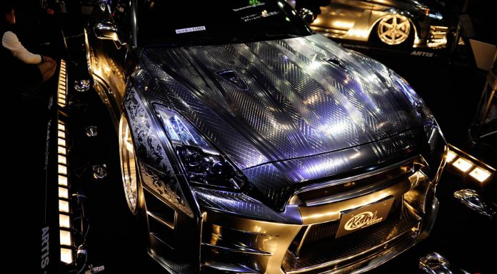 Nissan GT-R Collection at Tokyo Auto Salon 2015