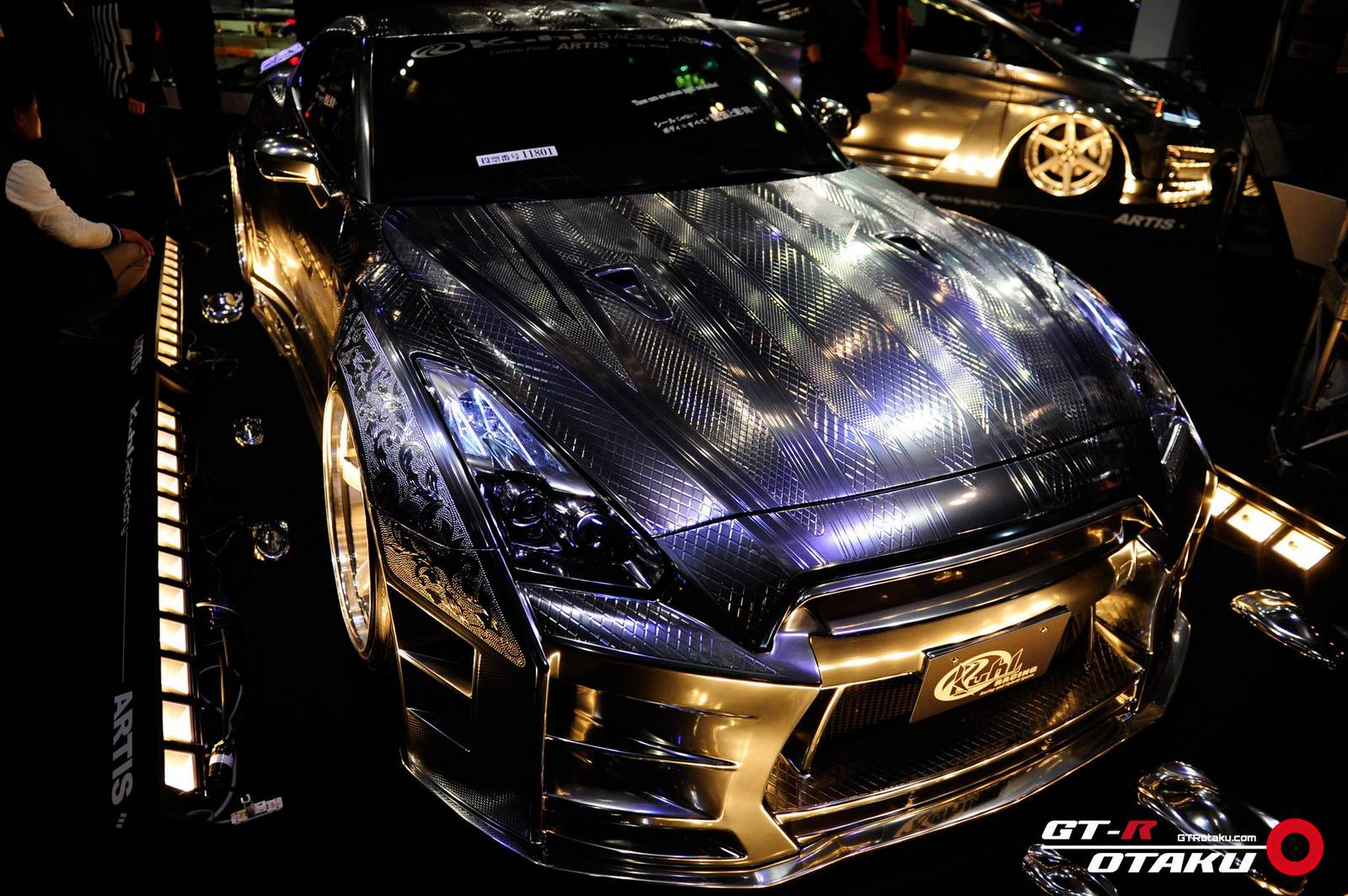 Gallery nissan gt r collection at tokyo auto salon 2015 for Tokyo auto salon 2015