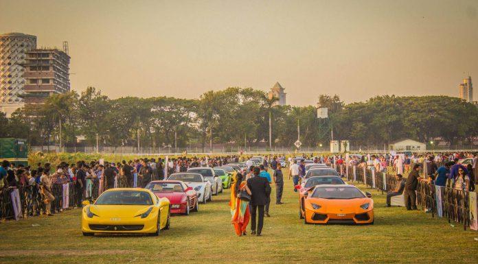 2015 Parx Supercar Show in Mumbai India