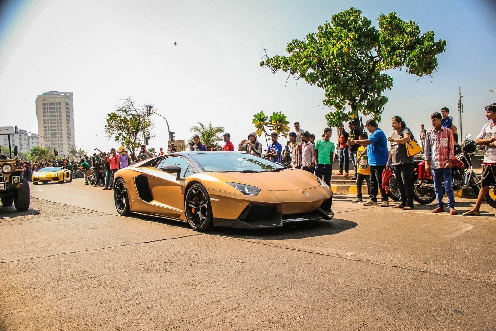 Parx Supercar Show In India Gtspirit
