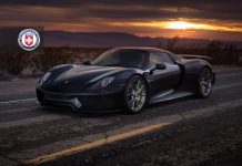 Porsche 918 Spyder with HRE Wheels
