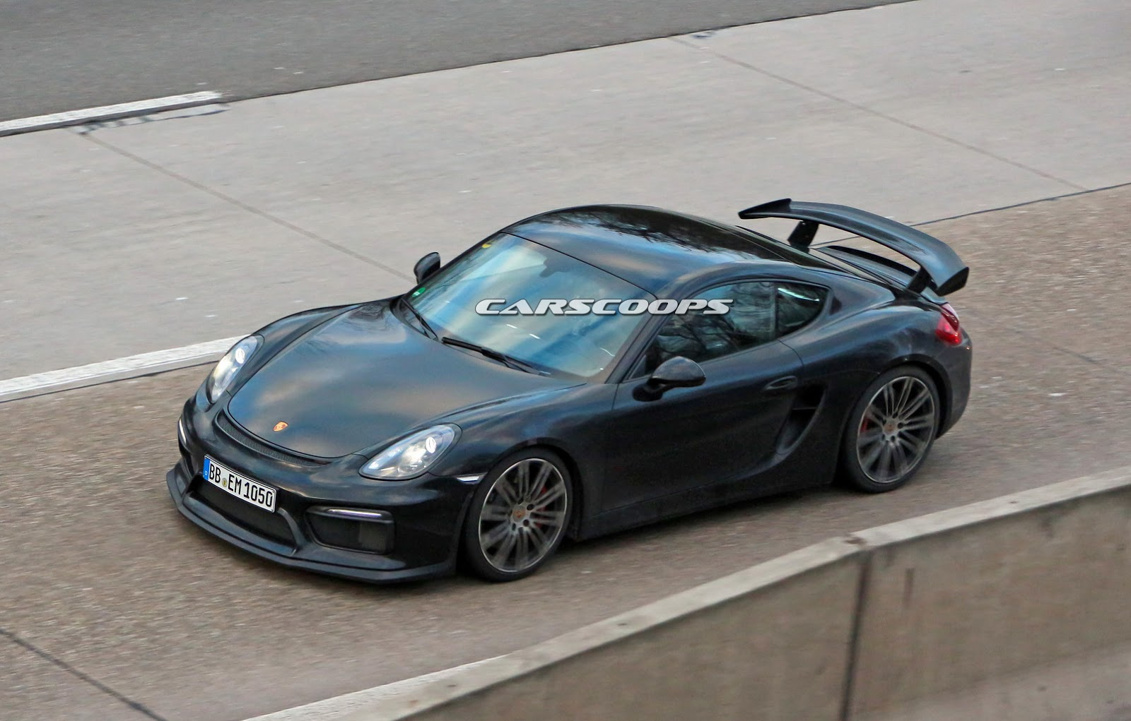 porsche cayman gt4 spied sans camo gtspirit. Black Bedroom Furniture Sets. Home Design Ideas