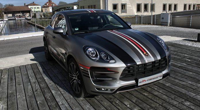 Centurion Light Grey Porsche Macan by 2M Design