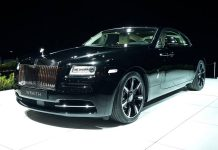 Rolls-Royce at the Brussels Motor Show 2015