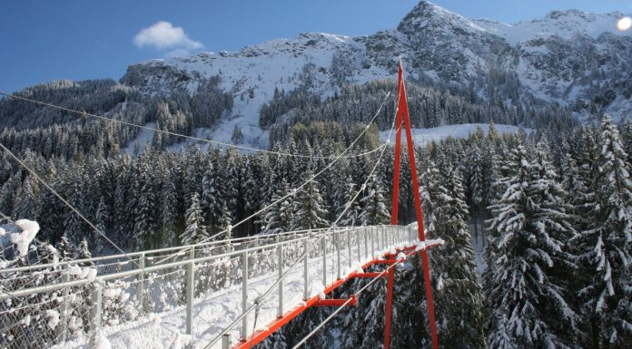 Saalbach-Hinterglemm Skicircus Golden Gate Bridge