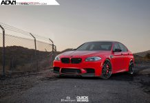 Satin Red BMW F10 M5 by R1 Motorsports